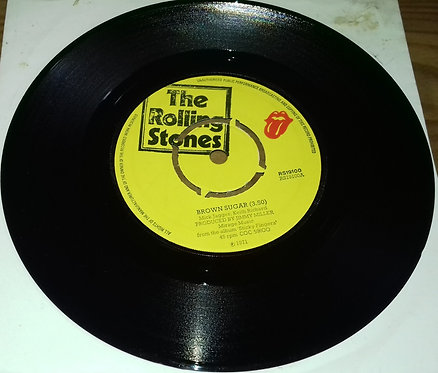 "The Rolling Stones - Brown Sugar / Bitch / Let It Rock (7"", Single, Mono, Pus) ("