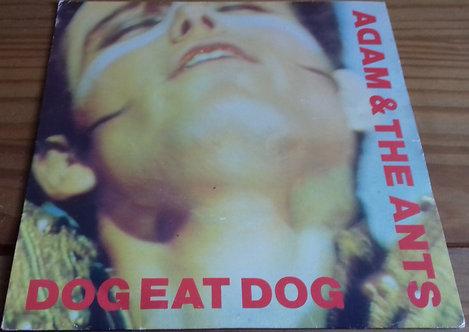 "Adam & The Ants* - Dog Eat Dog (7"", Single, Ora) (CBS, CBS)"
