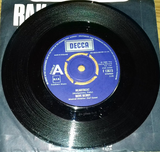 """Dave Berry - Little Things / Heartbeat (7"""") (Decca)"""