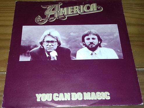 "America  - You Can Do Magic (7"", Single) (Capitol Records)"