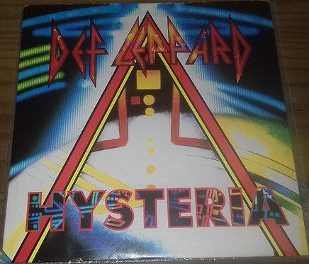 """Def Leppard - Hysteria (7"""", Single, Pap) (Bludgeon Riffola, Bludgeon Riffola)"""