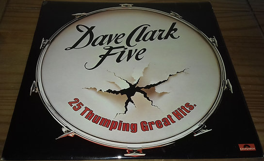Dave Clark Five* - 25 Thumping Great Hits (LP, Comp, Mono) (Polydor)