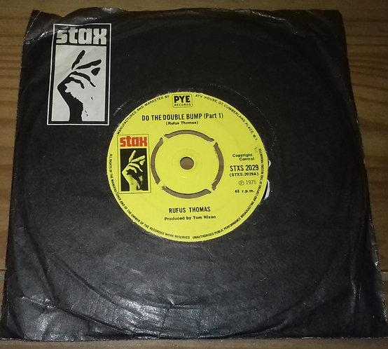 "Rufus Thomas - Do The Double Bump (7"", Single) (Stax)"