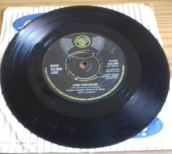 "Rock Island Line - Long Time No See (7"", Single) (DJM Records (2))"