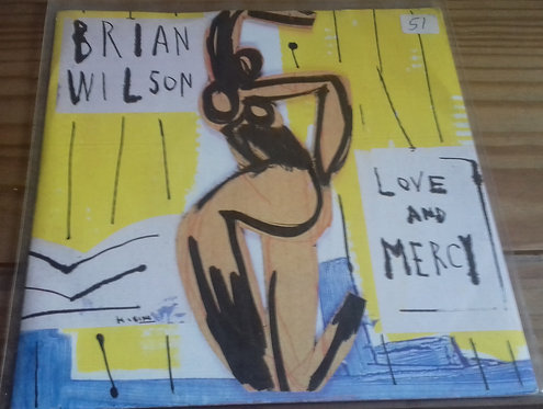 """Brian Wilson - Love And Mercy (7"""") (Sire)"""