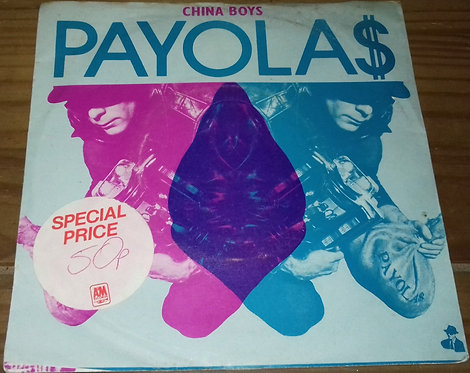 "Payola$ - China Boys (7"", Single) (I.R.S. Records)"