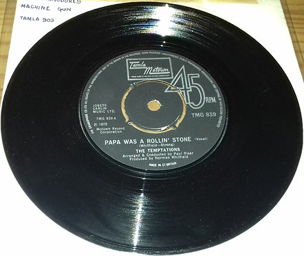"The Temptations - Papa Was A Rollin' Stone (7"", Single, Kno) (Tamla Motown)"