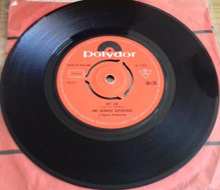 """Jimi Hendrix Experience* - Hey Joe / Stone Free (7"""", Single, Mono, Kno) (Polydor"""