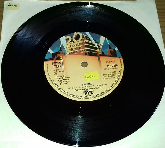"Edwin Starr - Contact (7"", Single, Sol) (20th Century Fox Records)"