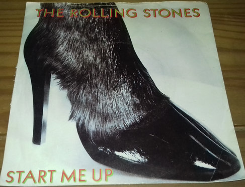 "The Rolling Stones - Start Me Up (7"", Single) (Rolling Stones Records)"