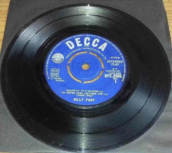 "Billy Fury - Billy Fury Hits (7"", EP) (Decca, Decca)"