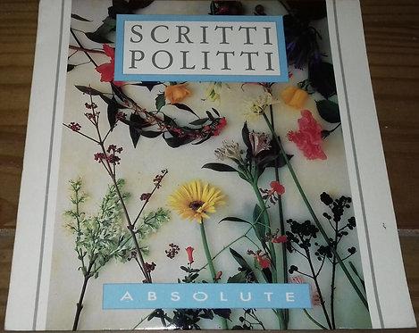 "Scritti Politti - Absolute (7"", Single) (Virgin)"