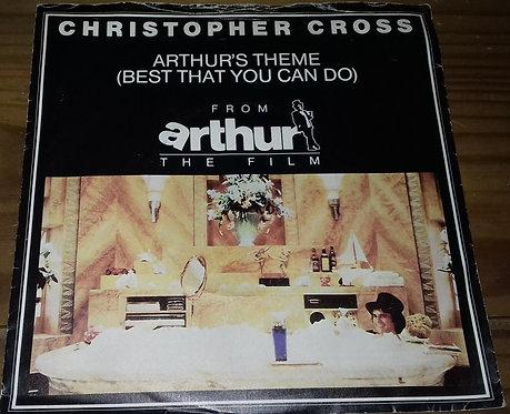 "Christopher Cross - Arthur's Theme (Best That You Can Do) (7"", Single, Pap) (War"