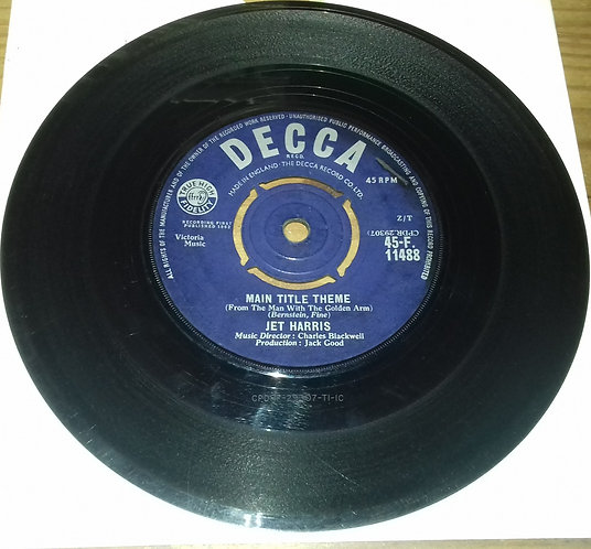 """Jet Harris - Main Title Theme (From The Man With The Golden Arm) (7"""", Single) ("""