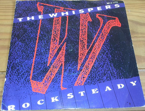 """The Whispers - Rock Steady (7"""") (Solar, MCA Records)"""