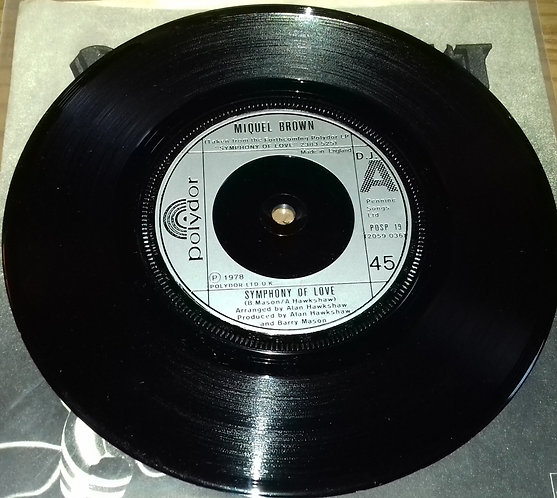 """Miquel Brown - Symphony Of Love (7"""", Sil) (Polydor, Polydor)"""
