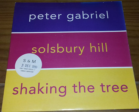 "Peter Gabriel - Solsbury Hill / Shaking The Tree (7"", Single) (Virgin)"