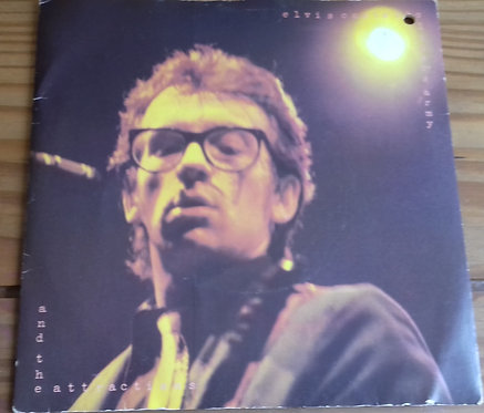 "Elvis Costello And The Attractions* - Oliver's Army (7"", Single, Sol) (Radar Rec"