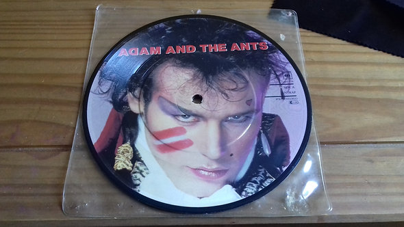 """Adam And The Ants - Antrap (7"""", Single, Pic) (CBS)"""