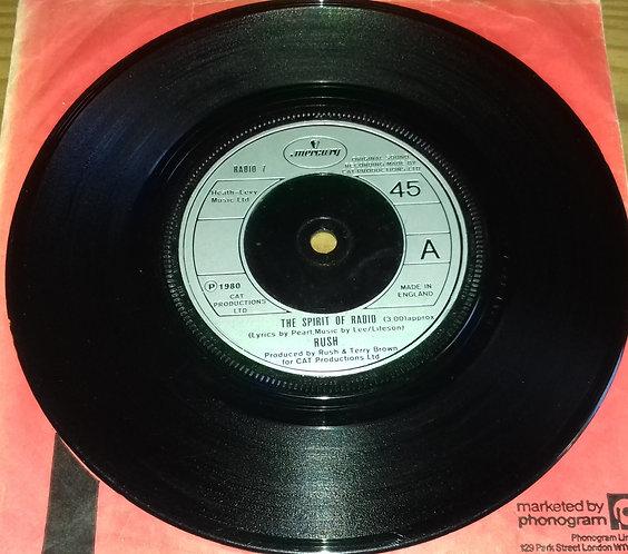 """Rush - The Spirit Of Radio (7"""", Single) (Mercury)"""