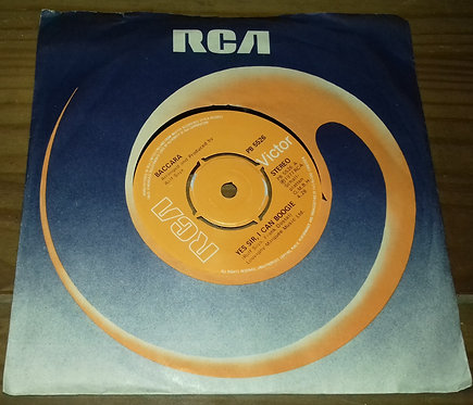 """Baccara - Yes Sir, I Can Boogie (7"""", Single, Kno) (RCA Victor)"""