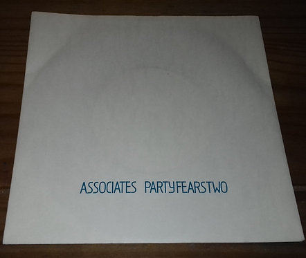 "Associates* - Party Fears Two (7"", Single) (Associates)"