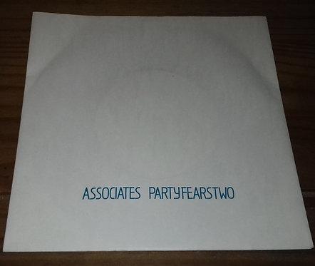 "Associates* - Party Fears Two (7"", Single) (Associates)"