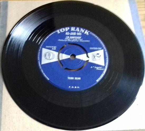 """Terri Dean - I'm Confessin' (That I Love You) (7"""") (Top Rank (2))"""