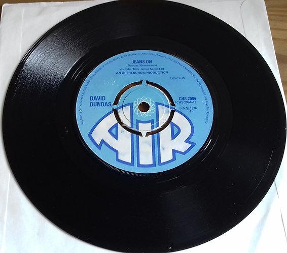 "David Dundas - Jeans On (7"", Single, Pus) (Air (3))"