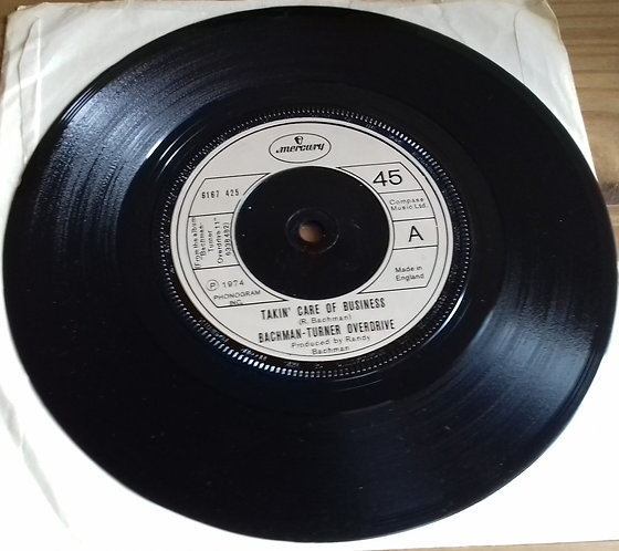 "Bachman-Turner Overdrive - Takin' Care Of Business (7"", Single, RE) (Mercury)"