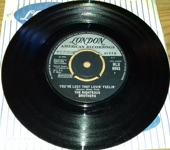 """The Righteous Brothers - You've Lost That Lovin' Feelin' (7"""", Single, 4-P) (Lond"""