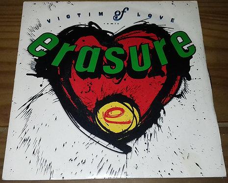 "Erasure - Victim Of Love (Remix) (7"", Single) (Mute)"