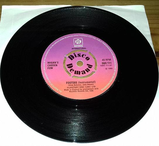 "Wigan's Chosen Few / Chuck Wood - Footsee / 7 Days Too Long (7"", Single) (Pye In"