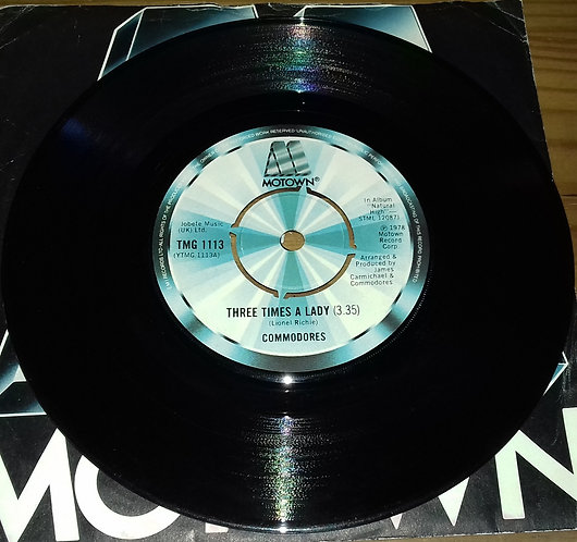 "Commodores - Three Times A Lady (7"", Single, Pus) (Motown)"
