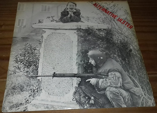"Stiff Little Fingers - Alternative Ulster (7"", Single) (Rough Trade, Rigid Digi"