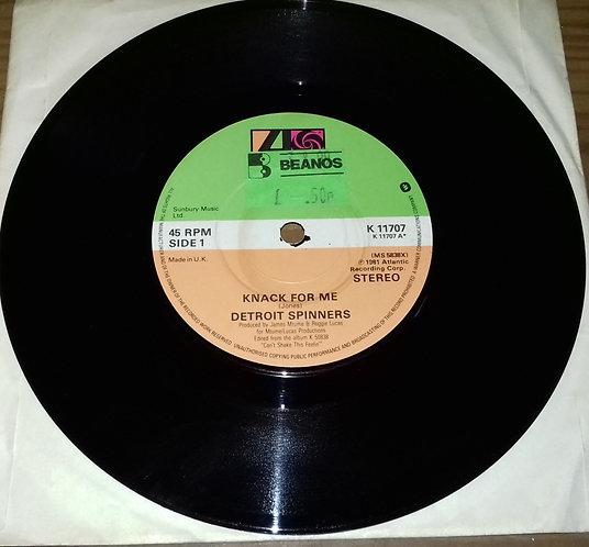 """Detroit Spinners* - Knack For Me (7"""", Single) (Atlantic)"""