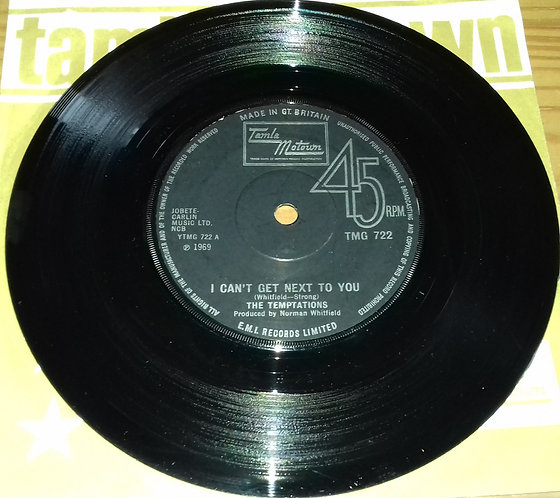 """The Temptations - I Can't Get Next To You (7"""", Single, Sol) (Tamla Motown)"""