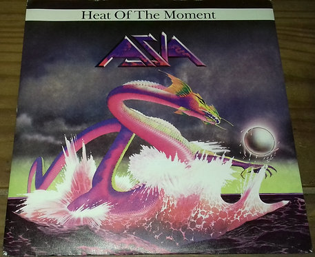 """Asia  - Heat Of The Moment (7"""", Single, Blu) (Geffen Records)"""