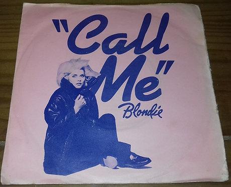 """Blondie - Call Me (7"""", Single, Sil) (Chrysalis)"""