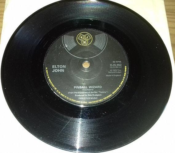 "Elton John - Pinball Wizard (7"", Single, Sol) (DJM Records (2))"