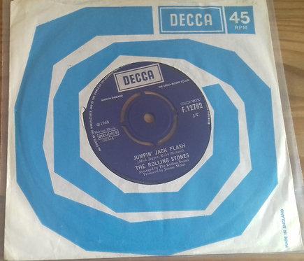 "The Rolling Stones - Jumpin' Jack Flash (7"") (Decca)"