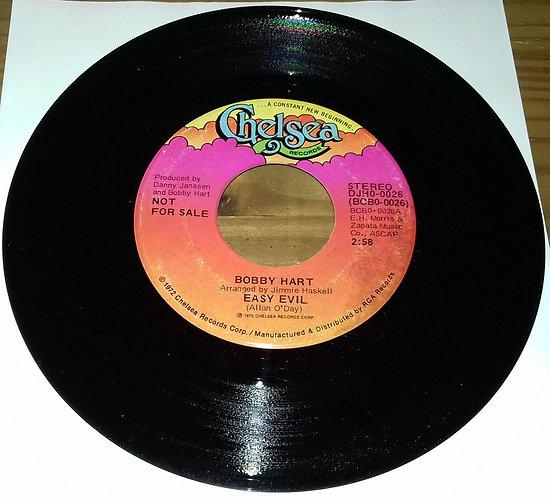 "Bobby Hart - Easy Evil (7"", Promo) (Chelsea Records)"
