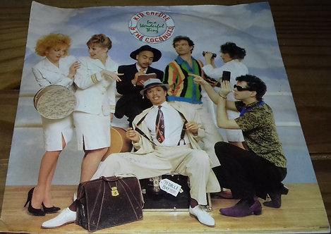 "Kid Creole & The Coconuts* - I'm A Wonderful Thing (7"", Single, Yel) (ZE Records"