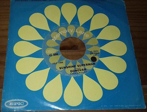 "Donovan - Mellow Yellow / Sunshine Superman (7"", Single) (Epic)"