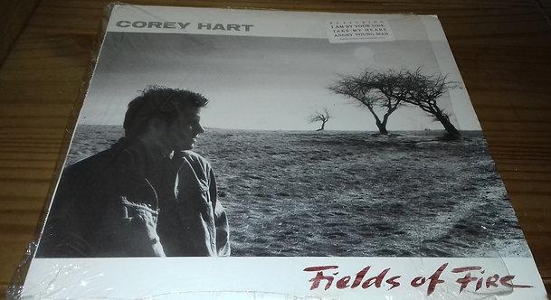 Corey Hart - Fields Of Fire (LP, Album) (EMI America)