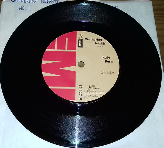 """Kate Bush - Wuthering Heights (7"""", Single, Sol) (EMI)"""