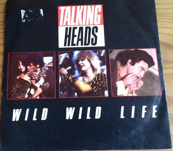 "Talking Heads - Wild Wild Life (7"", Single, Inj) (EMI)"