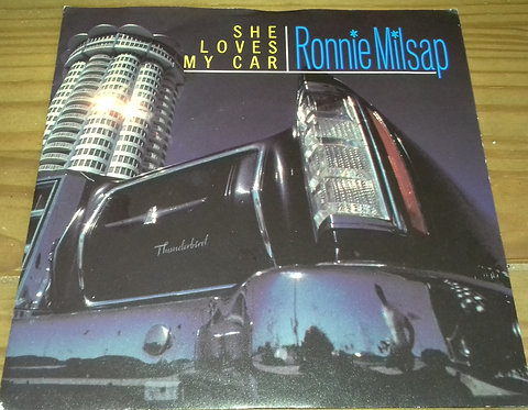 "Ronnie Milsap - She Loves My Car (7"") (RCA, RCA)"
