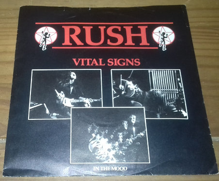"Rush - Vital Signs (7"", Single) (Mercury)"
