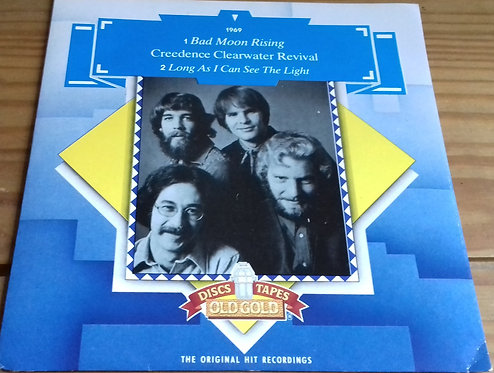 """Creedence Clearwater Revival - Bad Moon Rising / Long As I Can See The Light (7"""""""